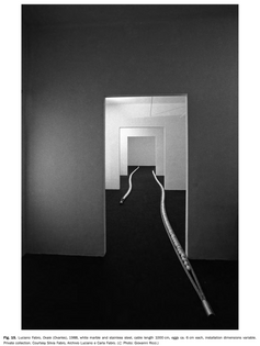 Luciano Fabro, Ovaies, 1988