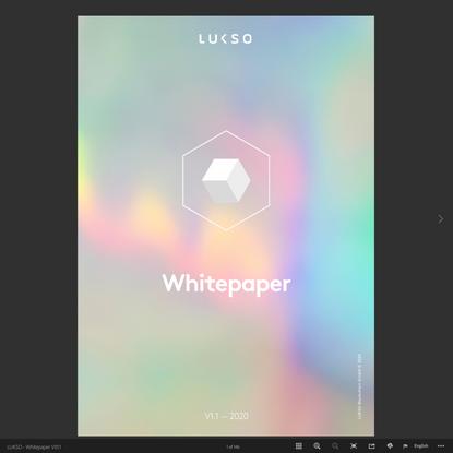LUKSO - Whitepaper V01.1