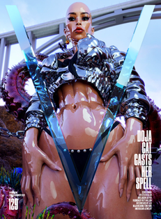 Doja Cat for V Magazine by Steven Klein & Jason Ebeyer