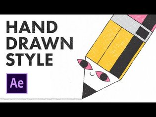 Hand Drawn Style in After Effects | Animation Tutorial