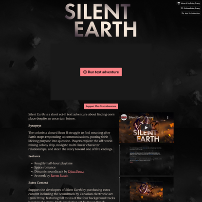 Silent Earth by Fring Frang