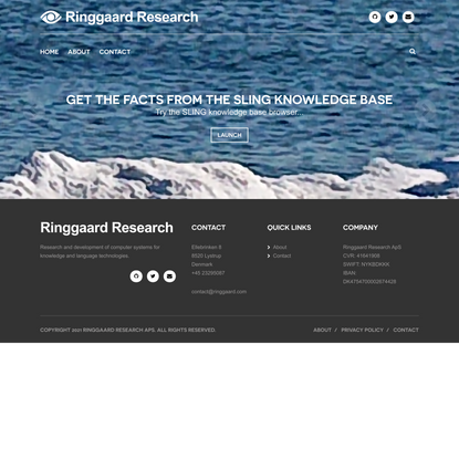 Home | Ringgaard Research