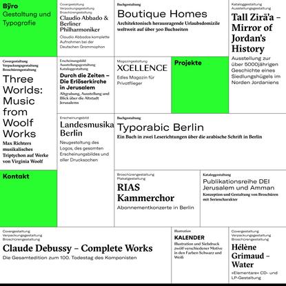 Bÿro — Gestaltung und Typografie