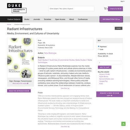 Duke University Press - Radiant Infrastructures
