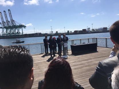 Electric LA-LA and Long Beach Ports Making Waves on Zero Emissions Technologies