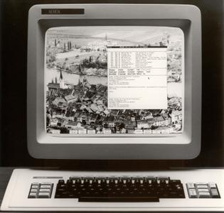 Xerox Star 8010 Interfaces, high quality polaroids (1981)
