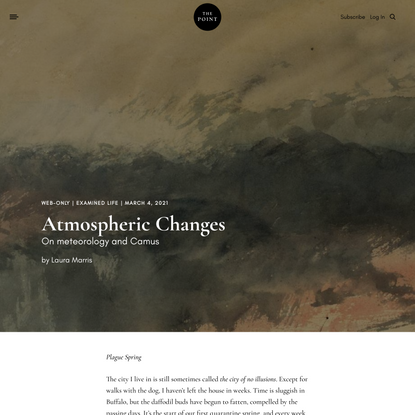 Atmospheric Changes | The Point Magazine