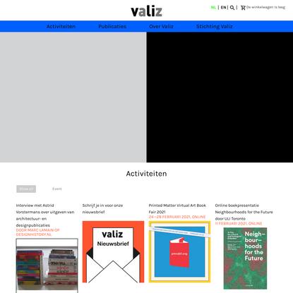 Valiz, boek- en culturele projecten