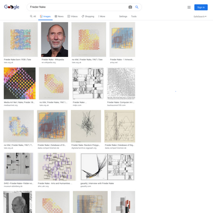 Frieder Nake - Google Search
