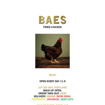 BAES Fried Chicken