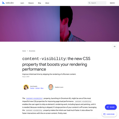 content-visibility: the new CSS property that boosts your rendering performance