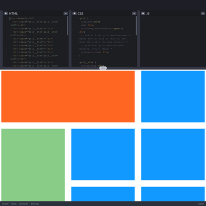 CSS grid auto rows