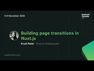 Building page transitions in Nuxt.js - Kruti Patel