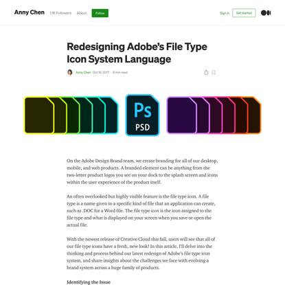 Redesigning Adobe's File Type Icon System Language