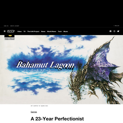 A 23-Year Perfectionist Journey to Localize the Obscure 'Bahamut Lagoon'