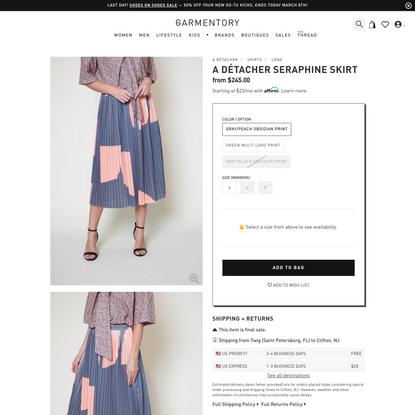 A Détacher Seraphine Skirt on Garmentory
