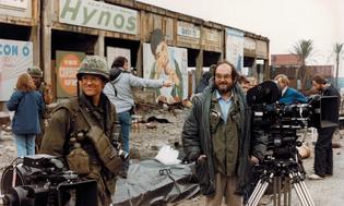 On the set of Vietnam war film Full Metal Jacket