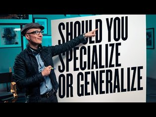 Specialize or Generalize - Niche or Broad - What to do when picking a field