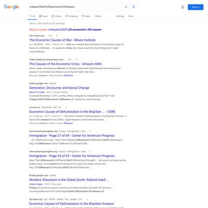 critique%20of%20economic%20reason - Google Search