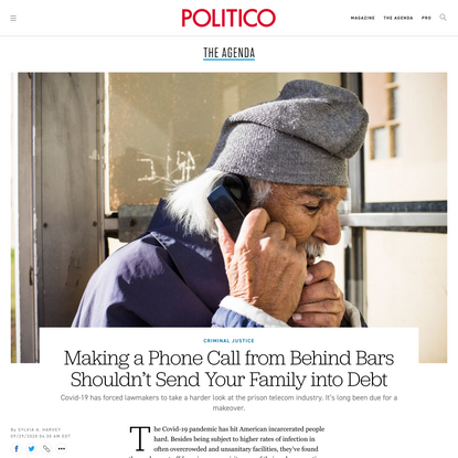Making a Phone Call from Behind Bars Shouldn't Send Your Family into Debt