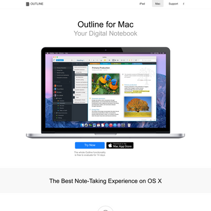 Outline for Mac