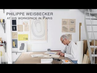 'Philippe Weisbecker at his workspace in Paris'(Japanese and English)