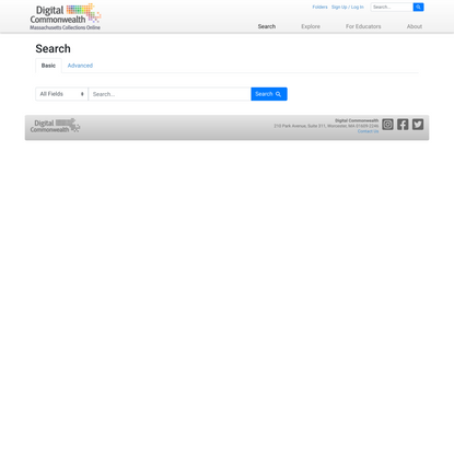 Search - Digital Commonwealth