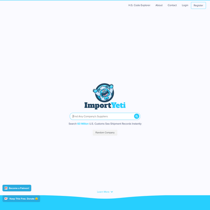 Homepage: ImportYeti - Find Quality Suppliers