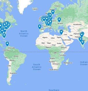 Map of Industrial Design Jobs - Google My Maps