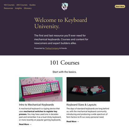Keyboard University
