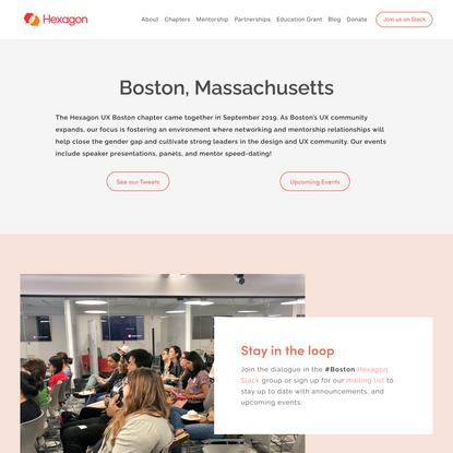 Boston — Hexagon UX