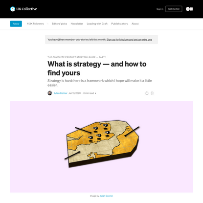 What is strategy — and how to find yours