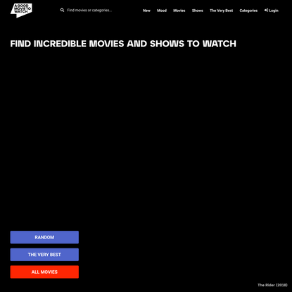 agoodmovietowatch   What to Watch on Streaming