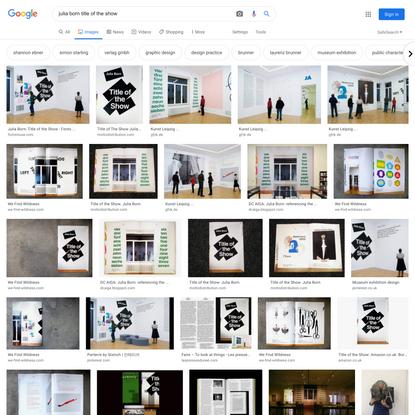 julia born title of the show - Google Search