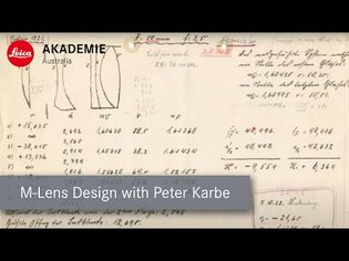 Leica M Lens System with Peter Karbe