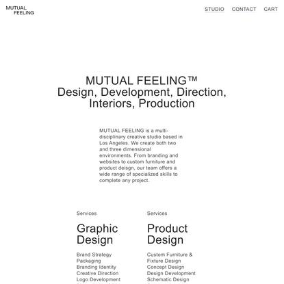 STUDIO — Mutual Feeling