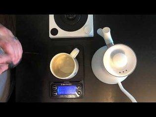 Kalita Wave/Origami PourOver coffee method.
