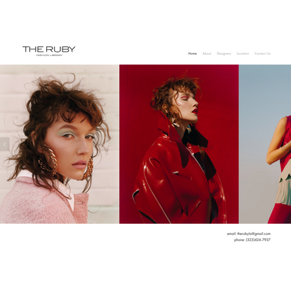 THE RUBY FASHION LIBRARY