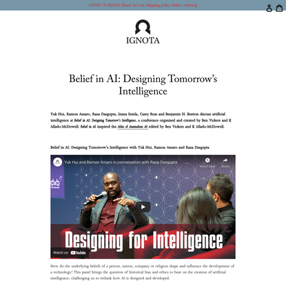 Belief in AI: Designing Tomorrow's Intelligence