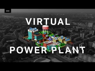 Powering a real city with a virtual power plant