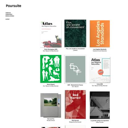 catalogue : POURSUITE