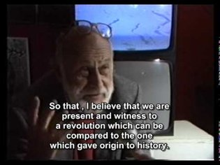 Vilém Flusser - 1988 interview about technical revolution (intellectual level is lowering)
