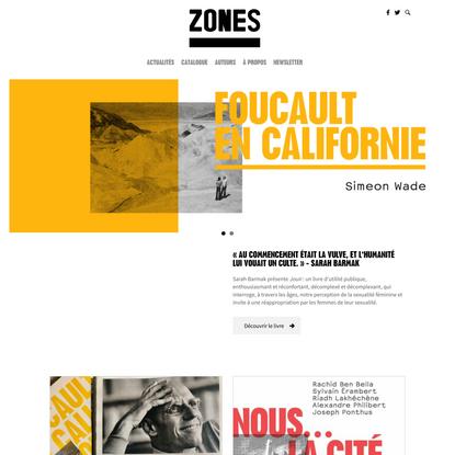 Éditions Zones
