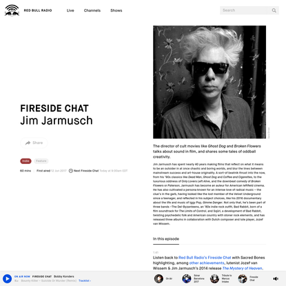 Jim Jarmusch [Fireside Chat]