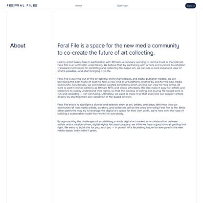 Feral File