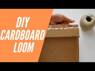 Weaving Beginners: DIY Cardboard Loom Tutorial