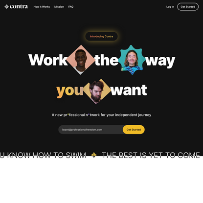 Contra - Work the Way You Want