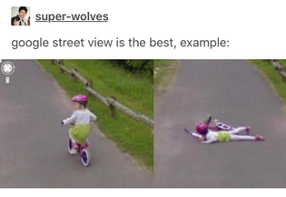 street view is the best