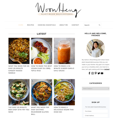 WoonHeng - Asian Plant-Based Deliciousness