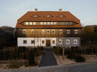 Historic Umgebindehaus converted into design HQ in Germany